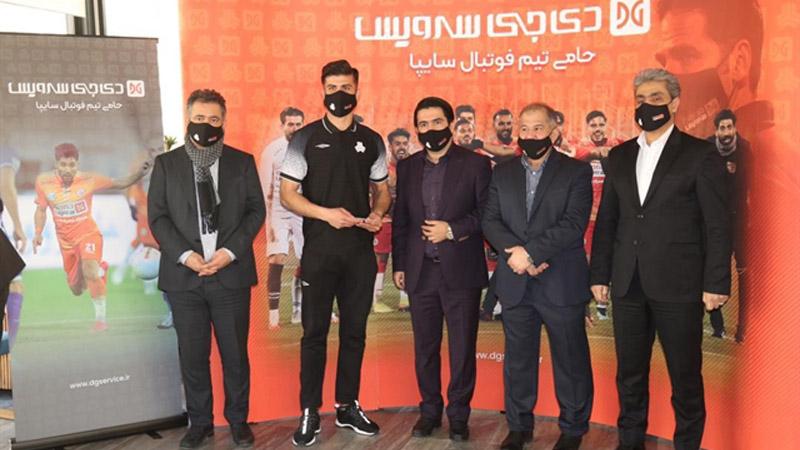 ضیافت تیم فوتبال سایپا به میزبانی دیجی سرویس